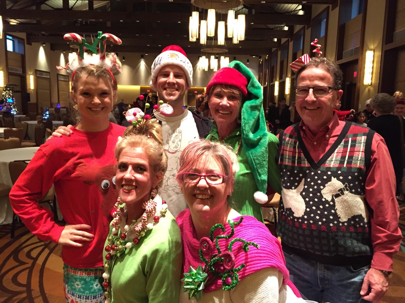 Dowd Insurance team volunteers at Superhero Kids holiday party